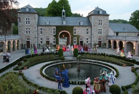 Les Jardins d\u0027Annevoie sont les seuls jardins d\u0027eau en Belgique et ils  figurent parmi les plus beaux d\u0027Europe !