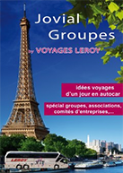 Cover brochure Jovial Groupes