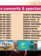 Concerts spectacles